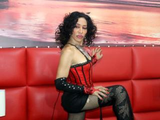 SusyTS - Live cam sexy with a dark hair Transsexual