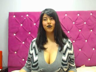 AlexaTits - Video chat x with a charcoal hair Hot babe