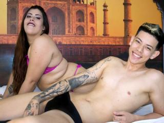 DahianaXJames - Sexy live show with sex cam on XloveCam®