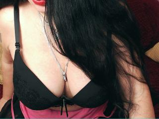 DarkMaria - Chat cam hard with a black hair MILF