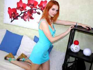 EllisFox - Show live hard with a red hair College hotties