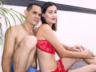 KlooyXSilver - Web cam sexy with a Girl and boy couple with hot body
