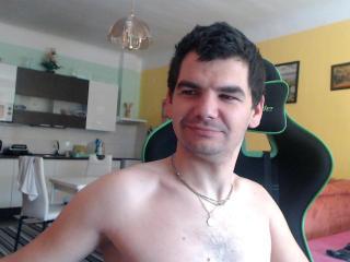 Photo de profil sexy du modèle SexyDjCool, pour un live show webcam très hot !