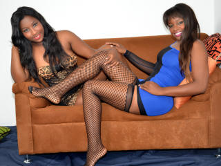 Picture of the sexy profile of EbonyHornyLadies, for a very hot webcam live show !