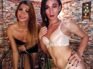 Photo de profil sexy du modèle NastyGoddessAliveCouples, pour un live show webcam très hot !