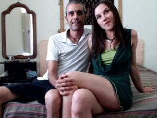 SexyPornyCp - Web cam x with a being from Europe Girl and boy couple