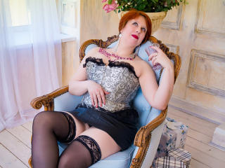 NikoletaRed - Chat cam exciting with this shaved sexual organ Mature