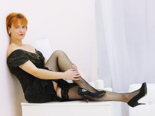 Picture of the sexy profile of GingerLiz, for a very hot webcam live show !