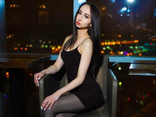 Sexet profilfoto af model EvelinaMore, til meget hot live show webcam!