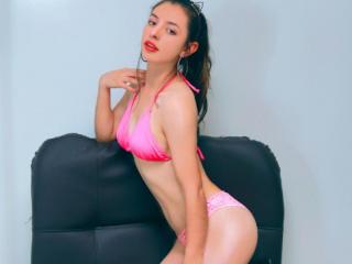 Foto de perfil sexy da modelo DulceMicaela, para um live show muito quente!