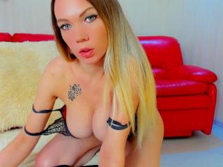 Sexy profilbilde av modellen  AngelikaLoves, for et veldig hett live webcam-show!