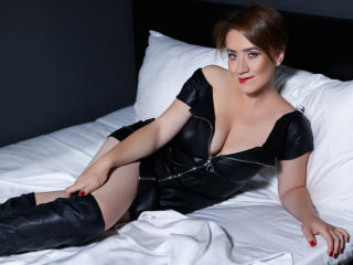 Sexet profilfoto af model GingerBarr, til meget hot live show webcam!