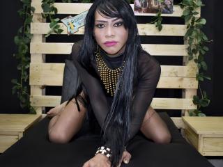 PerlaBigCock - Live chat sexe avec une Trans sur le service Xlove-Trans