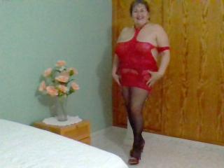 NastyLatinaMilf - Webcam x with this fair hair Mature