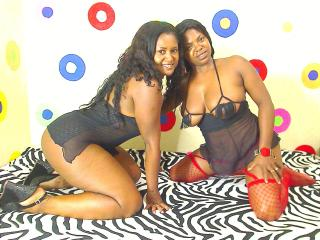 Picture of the sexy profile of TwoBlackBeauties, for a very hot webcam live show !
