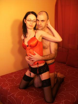 Picture of the sexy profile of KittyandGreg, for a very hot webcam live show !