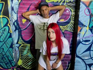 NadiaXJhoss - Chat cam sex with a redhead Trans couple