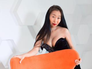 Photo de profil sexy du modèle KimmySunVonna, pour un live show webcam très hot !