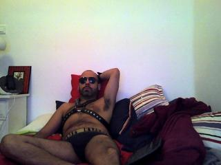 Picture of the sexy profile of DeepHardMacho, for a very hot webcam live show !