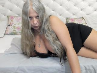 Sexet profilfoto af model DarkMaria, til meget hot live show webcam!