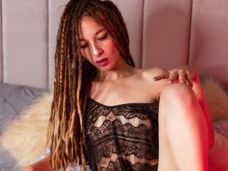 Velmi sexy fotografie sexy profilu modelky RastaPrincess pro live show s webovou kamerou!