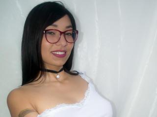 Sexy profilbilde av modellen  AquilaRain, for et veldig hett live webcam-show!