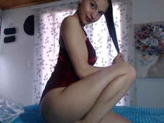 Picture of the sexy profile of Crisstal, for a very hot webcam live show !