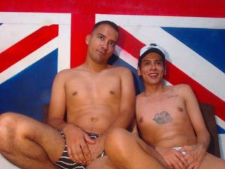 WildsexLatino - chat online nude with a latin american Gay couple