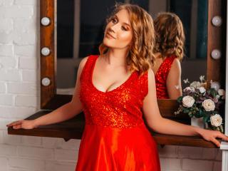 Foto de perfil sexy da modelo LinettePreston, para um live show muito quente!