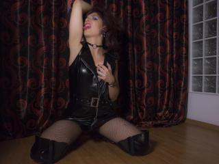 Foto de perfil sexy da modelo SinfulGabrielle, para um live show muito quente!