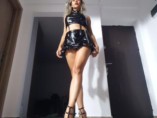 Cyberxxx - Webcam xXx with this light-haired Mistress